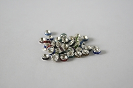 STR.64 - STRASS RONDELLEN MIX / 6MM
