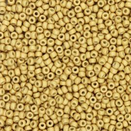 11-4202F - MIYUKI ROCAILLES DURACOAT GALVANIZED MATTE GOLD