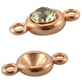 SS39 -  PUNSTEEN SETTING  ROSE GOUD / 8MM
