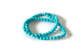 """NST - TURKOOIS """"NATURAL TURQUOISE"""" / 6MM"""