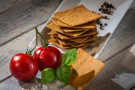 Crackers tomaat basilicum - hartig (360 gram)