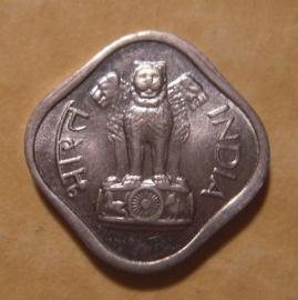 India  , 1 Paisa 1968     KM10.1 (12664)