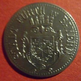 Fürth , 10 Pfennig 1917 Fe      F145.3 var.IIi (6535)
