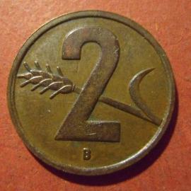 2 Rappen 1951      KM47 (11883)