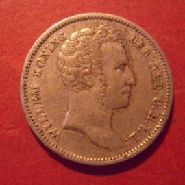 Willem I , ¼ Gulden 1827      KM301.1 (11817)