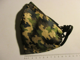 Face mask  camouflage/black size L