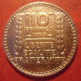 10 Francs 1948      KM909.1 (11539)
