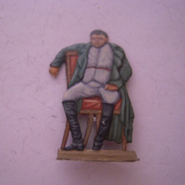 1814  Napoleon abdicated in Fontainebleau (copy of painting by Paul Delaroche) , 1x flat 40mm scale (15428)