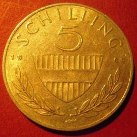 5 Schilling 1960       ANK036/KM2889 (7402)