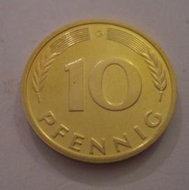 FRG / BRD 10 - 50 Pfennig