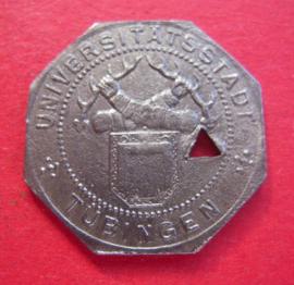 Tübingen , 10 Pfennig 1917 Fe !!! Selten !!! F551.5B var.b (1789)