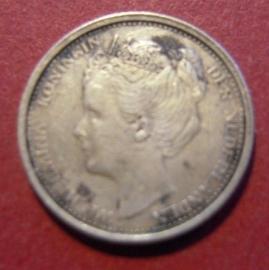 Wilhelmina - 10 Cent 1904. Vf/Xf Silver KM136 (7317)