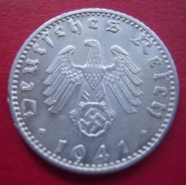 Germany - Third Reich , 50 Reichspfennig 1941 A     J372/KM96 (4331)