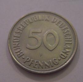 Germany - BRD , 50 Pfennig 1972 F      J384a/KM109.2 (14964)