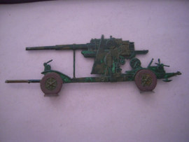 1930 - WWII German anti-aircraft gun (Flak) 137x50mm , 1x  flat 30mm scale (15906)