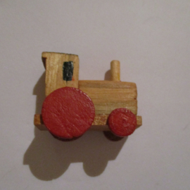 1942-12-19/20 German WHW donation gift. Wooden toys - Locomitive chimney straight T535 .1 (16247)