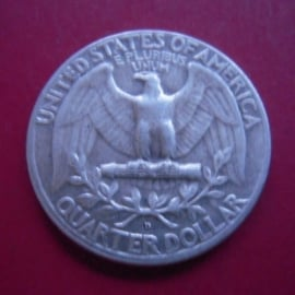 USA , Quarter Dollar 1963 D - Washington.  Silver KM164          (4061)