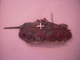 1944 German WWII tank destroyer Jagdpanzer 38 , 1x 124x47mm flat 30mm scale (15913)