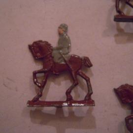 1920's - WWII German cavalry , 5x flat 20mm scale.  Spenkuch ? (15748)