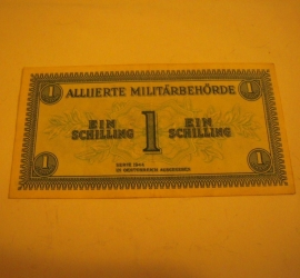 1944 Austria - Allied military currency WWII , 1 Schilling  (14656)