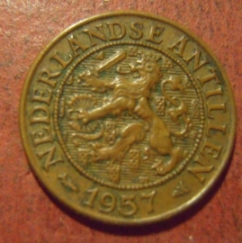 Netherlands Antilles , Juliana , 1 Cent 1957      KM1 (11516)