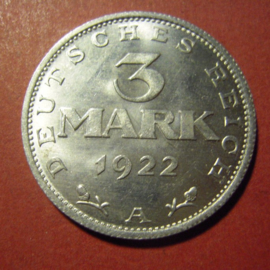 1 - 5 Mark - Weimar Republic 1919 - 1933
