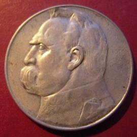 5 Zlotych 1936 (W)       KM28 (8895)