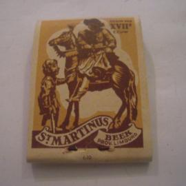 Belgium WHW donation gift. 1941 Match box St.Martin - Beek - Verkocht ten bate van Winterhulp. Complete ca. 37x48mm T005a (15236)