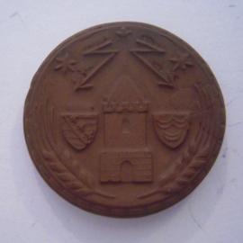 Bitterfeld , 2 Mark 1921.   Meissner Ofen- & Porzellanfabrik 32mm Sch502a - III (14277)