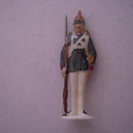Gau Berlin 1942 Jan. WHW donation gift. Guard Corps Berlin - Grenadier. Synthetic 50mm T043 (12401)