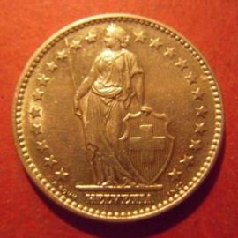2 Franken 1968 B      KM21a (11991)