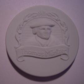 1989 Bad Frankenhausen , Thomas Müntzer - Landsknecht Peasants' War. Meissen Porcelain 52mm W9017.2 - III (15239)