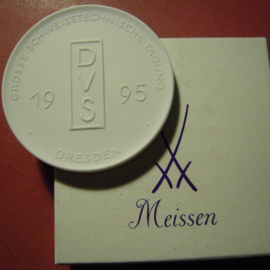 1995 Dresden , Welding technics fair in original box. Meissen 64mm  W10.075.2 - V (9111)