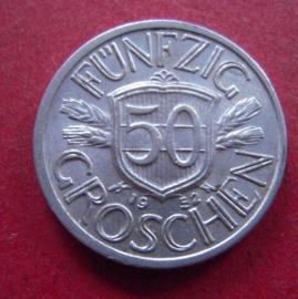 50 Groschen 1952       ANK017/KM2870 (7388)
