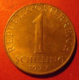 1 Schilling 1977       ANK18/KM2886 (7396)