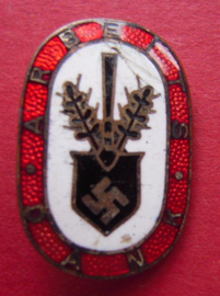 1933 - 1945 German membership pin RAD- Arbeitsdank des RAD (4371)