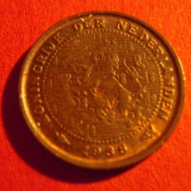 .½ Cent 1938      KM138          (3915)