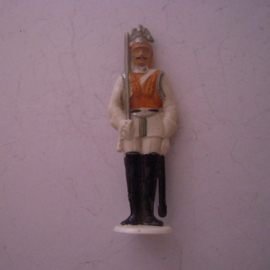 Gau Berlin 1942 Jan. WHW donation gift. Guard Corps Berlin - Cuirassier. Synthetic 50mm  T036 (12397)