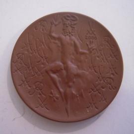 2000 Meissen , Tag der offenen Tür - Oberon. Meissen Porzellan 52mm W10.610.1 - II (14654)
