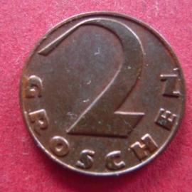 Austria - .2 Groschen 1928       ANK005/KM2837 (7379)