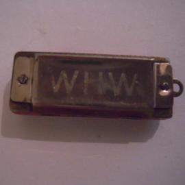 Gau Kurhessen 1930's WHW donation gift. Harmonica 37mm T036 (15927)