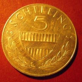 5 Schilling 1964       ANK036/KM2889 (7403)