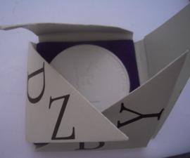 1968 Dresden , Gutenberg prize holder VEB Typoart Leipzig + original design box !!! Meissen Porcelain 65mm W4162.2 - IV (15287)