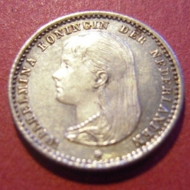 10 - 25 Cent  Wilhelmina - Netherlands