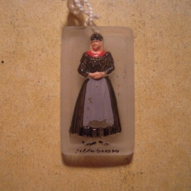 1939-06-24/25 Association German culture abroad - VDA. Traditional costums - Schleswig.  Glass 20x35mm T105 (13616)