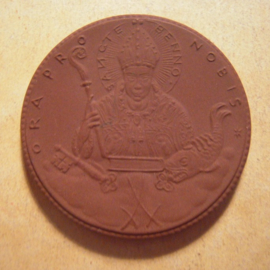 1921 Meissen , Bisdom renewal donation. Gipsform !!! Meissen Porcelain 50mm Sch797a - RR !!! (13592)