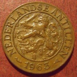 Netherlands Antilles , Juliana , 1 Cent 1963      KM1 (11517)