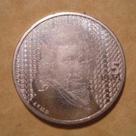 Beatrix - 5 Euro 2006 - Rembrand van Rijn. Unc !!! Silver !!! KM266 (12781)