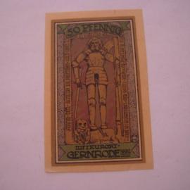 Gernrode - Hare , 50 Pfennig 1921. GM423.3 (16037)