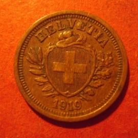 1 Rappen 1919 B       KM3.2 (11863)